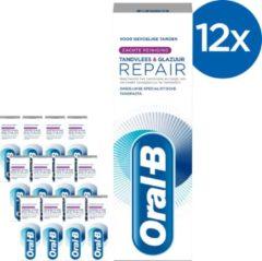 Oral-B Tandvlees & Glazuur Repair Zachte Reiniging - Voordeelverpakking 12x75 ml - Tandpasta