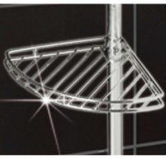 Teleskop-Duschecke 'Edelstahl' Wenko silberfarben