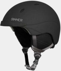 SINNER Titan Skihelm - Zwart - Unisex - Maat 61 (L)