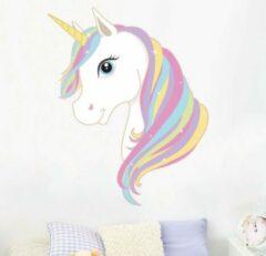 Muurstickerstunter Muursticker eenhoorn / unicorn