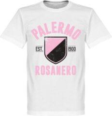 Retake Palermo Established T-Shirt - Wit - S