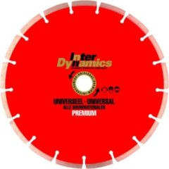 InterDynamics INTER DYNAMICS DIAMANTZAAG UNIVERSEEL PREMIUM 150X22,2MM
