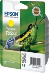 Gele Epson T0334 - Inktcartridge / Geel