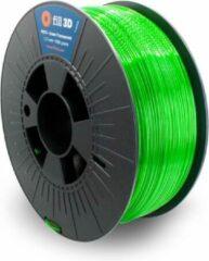 Fill 3D PETG groen Transparent (groen transparant) 1 kg