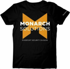 Zwarte Bioworld Europe Quantum Break - Monarch solutions - Heren t-shirt - M