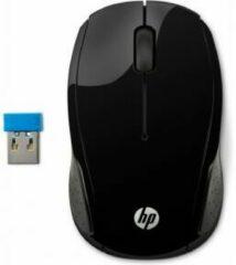 HP 200 RF Draadloos Optisch 1000DPI Zwart Ambidextrous