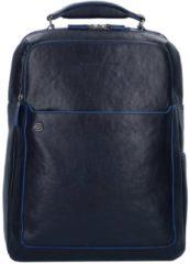 Blue Square Special Business Rucksack Leder 42 cm Laptopfach Piquadro blu