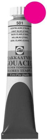 Afbeelding van Talens plakkaatverf Extra Fijn tube van 20 ml, permanent roze (magenta)