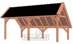 Van Kooten Tuin en Buitenleven Kapschuur de Hoeve XL 635x380 cm
