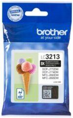 Brother Inktcartridge Zwart, 400 Pagina's - Oem: Lc-3213bk