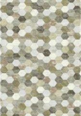 Eurogros Modern Vloerkleed - Amado 6282 - Grijs - Stijlvol - Honinggraad - Antislip - Geluiddempend - Anti allergie - Eenvoudig schoonmaken - Kleurrijk - Speels - Makkelijk te combineren