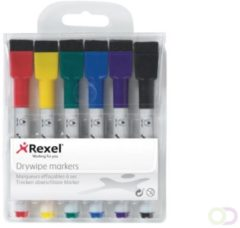 Whiteboardstift Rexel mini assorti