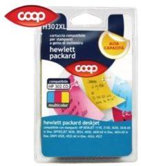 COOP Cartuccia per stampanti multicolor H302 XL compatibile HP 302 CO