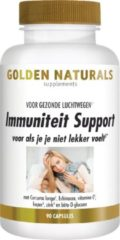 Golden Naturals Immuniteit Support (90 vegetarische capsules)