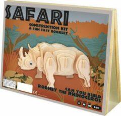 Professor Puzzle Animal Construction Kit - Safari Rodney Rhino