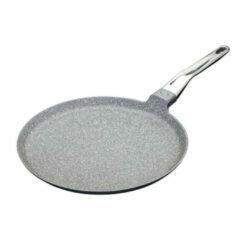 Grijze Crepe pan - Aluminium, 28cm - MasterClass