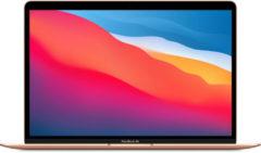 Apple MacBook Air Notebook Goud 33,8 cm (13.3 ) 2560 x 1600 Pixels Apple M 8 GB 256 GB SSD Wi-Fi 6 (