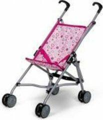 Mini Mommy Poppen Buggy Roze