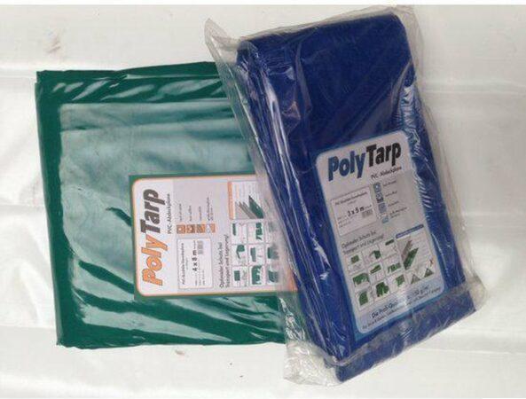 Afbeelding van PVC-Tarp.com / Lankotex Afdekzeil | Dekzeil | Dekkleed | Afdekkleed | Bache | PVC-600 |3,5 x 7 groen