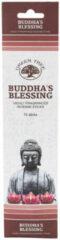 Greentree Wierrooksticks groen Tree - budhha's blessing - 15 stokjes