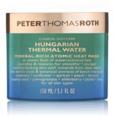 Gebroken-witte Peter Thomas Roth Hungarian Mineral Heat Mask - Gezichtsmasker - Hongaars thermaal water - Helpt bij het verminderen van fijne lijntjes, rimpels, ongelijkmatige teint en textuur - Voor een stevigere, gladdere, gezonder en jonger uitziende h