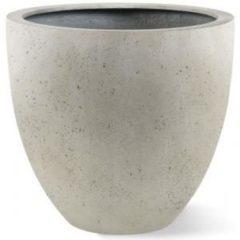 Luca Lifestyle Grigio plantenbak Egg Pot M antiek wit betonlook