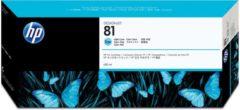 HP 81 licht-cyaan DesignJet kleurstofinktcartridge, 680 ml (C4934A)