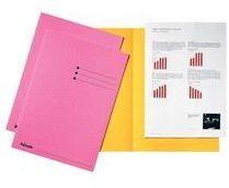 Esselte dossiermap roze, karton van 180 g/m², pak van 100 stuks