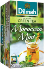 Dilmah All Natural groen Tea Moroccan Mint (20st)