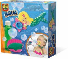 SES 13021 Aqua - Zeemeermin bellenblaas in bad