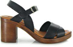 Zwarte Red-rag RED RAG 79174 Women Heel Sandal - 39