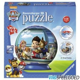 Afbeelding van Ravensburger Paw Patrol puzzleball - 3D Puzzel - 72 stukjes
