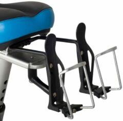 Grijze Dubbele Bidonhouder FitBike - voor spinningfietsen