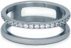 Roze La Label Jewelry Ring double cubic zirconia