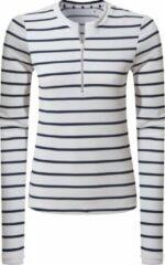 Marineblauwe Craghoppers - UV Zwemshirt voor dames - Longsleeve - Cordelia Rash Vest - Navy/Wit - maat S (38)