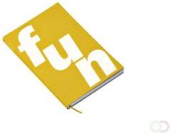 Octàgon Notitieboek Octagon FUN A5 135x200mm dots geel
