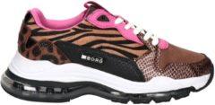 Bjorn Borg X500 PON Leo dames dad sneaker - Bruin multi - Maat 38