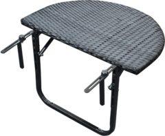 Express Balkontafel wicker inklapbaar 60x40 cm