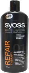 SYOSS Repair Therapy Shampoo 500ml - 1 stuk - Herstelt haar