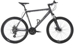 KS Cycling MOUNTAINBIKE HARDTAIL 24 GÄNGE GTZ 26 ZOLL MTB Fullsuspension Herren grau
