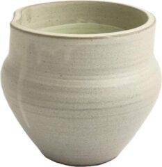 Creme witte D&M Deco Pot PIT - Crème / Diameter 22,5 cm