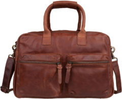 Cowboysbag De originele schooltas werktas The Bag Cognac
