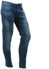 Blauwe Disney Cars Jeans - Heren Jeans - Slim Fit - Stretch - Lengte 36 - Blast - Lion Blue