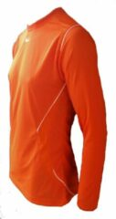 KWD Sportshirt Mundo lange mouw - Oranje/wit - Maat XXL