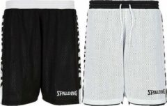Spalding Essential 4Her Reversible Short Dames - Zwart / Wit | Maat: 38
