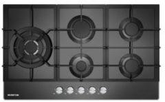 Zwarte Inventum IKG9023WGGL - Inbouw gaskookplaat
