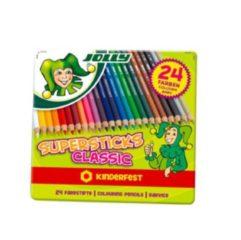 Jolly Supersticks Classic kleurpotloden 24 stuks
