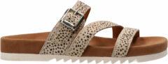 Maruti Bijou dames slipper - Wit multi - Maat 36