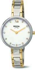 Boccia Titanium 3251.01 horloge - Titanium - Zilver en goudkleurig - 30 mm
