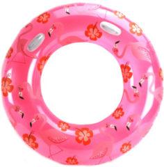 Roze ALERT Zwemring Flamingo - 119 Cm